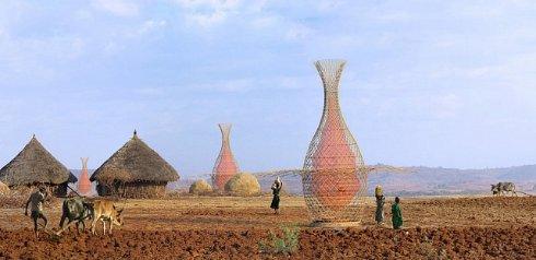 В сёлах Эфиопии установят устройства, которые вырабатывают чистую воду из воздуха