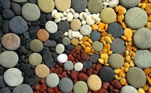 Коврик для ванной из натуральных камней