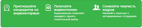 VCV - сервис видеорезюме для отбора кандидатов