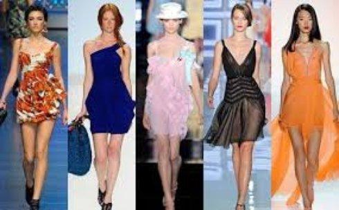 Весенние новинки модных платьев