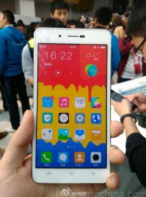 Представлен самый тонкий в мире смартфон Vivo X5 Max