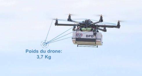 Во Франции появятся дроны-почтальоны