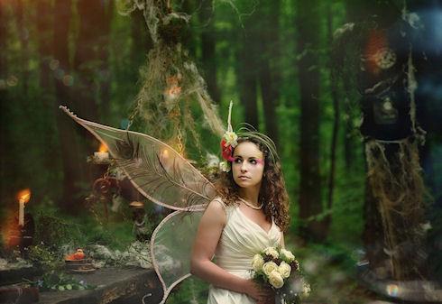 Сказочная свадьба «Волшебный сад фей»