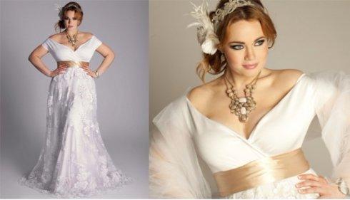 Выбор свадебного платья для полных невест