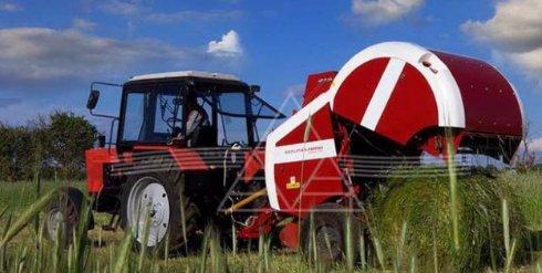 Выпущено уникальное оборудование для загрузки сена