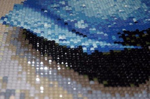 Вышивка стразами или алмазная вышивка