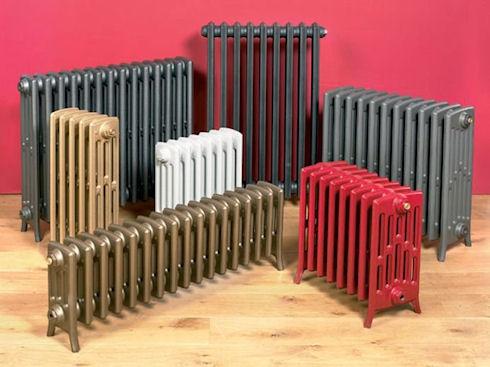 Характеристики отопительных радиаторов