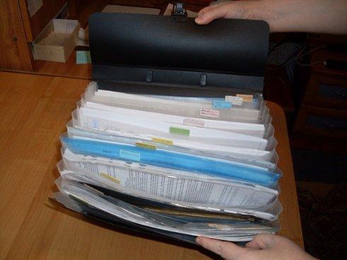 Хранение важных документов