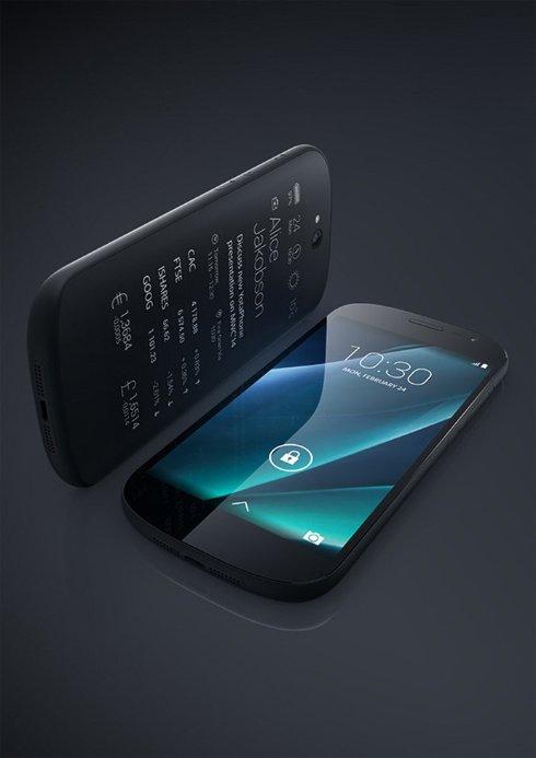 В Москве презентовали смартфон YotaPhone 2