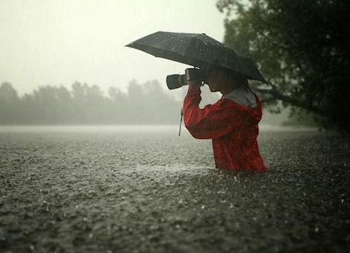 Любимые занятия человека, когда идет дождь