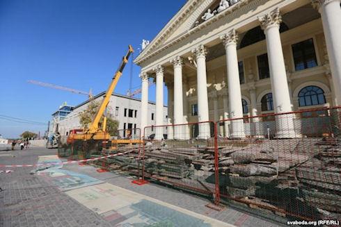 Здание бывшего музея ВОВ снесут