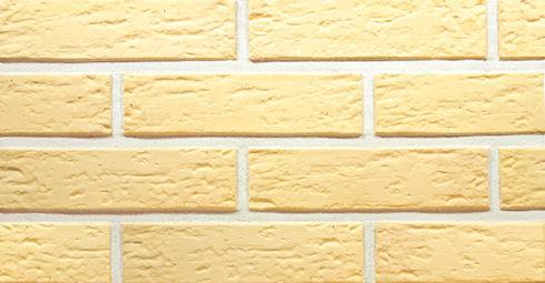 Желтый облицовочный керамический кирпич