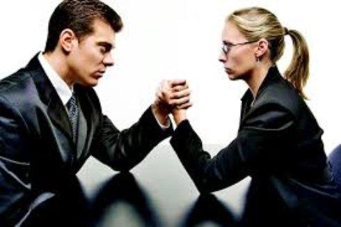 Женщина и мужчина о работе - психология
