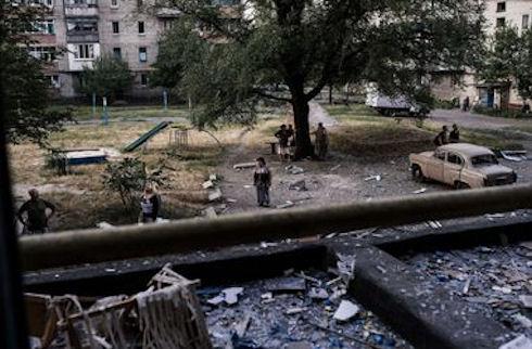 Жителям Краснодона запрещено вести фото и видеосъёмку