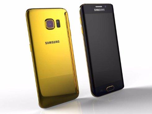 Золотой Galaxy S6 edge оценили в 00
